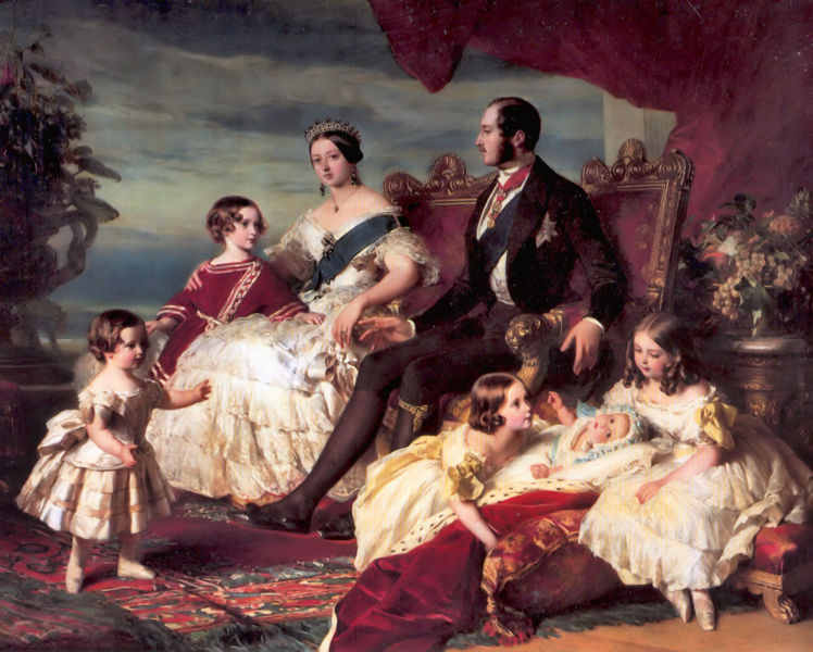 748px-Franz_Xaver_Winterhalter_Family_of_Queen_Victoria